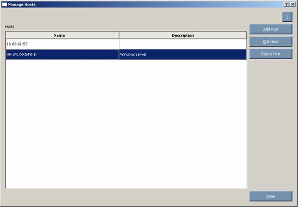 Proliant Maintenance CD 90244 Managing hosts