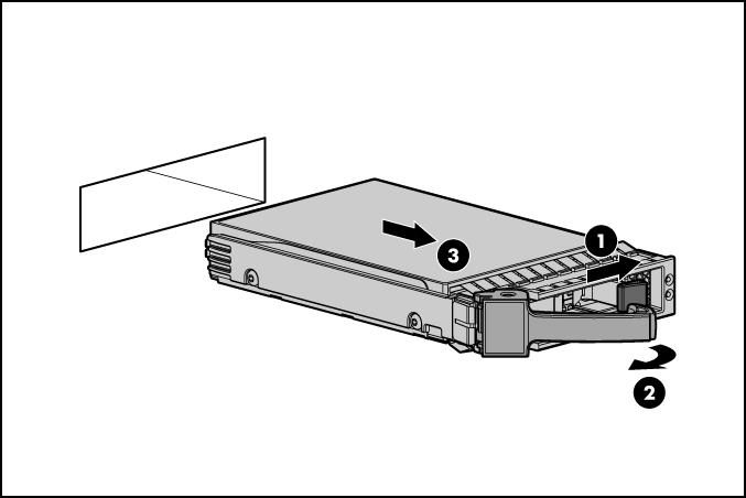 HP ProLiant WS460c G6 71488 Hard drive