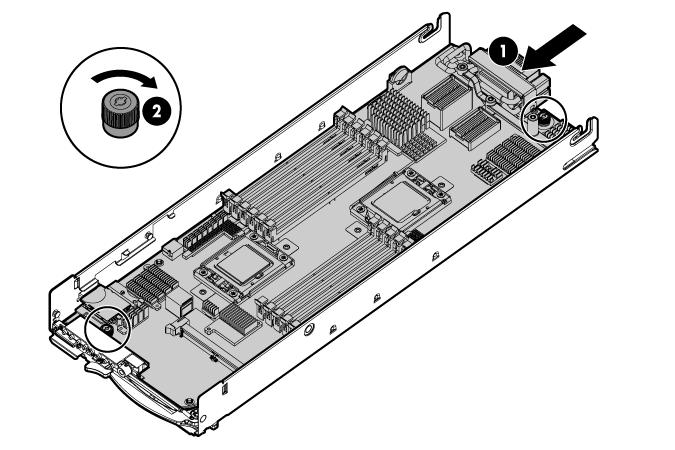 HP ProLiant WS460c G6 97526 System board