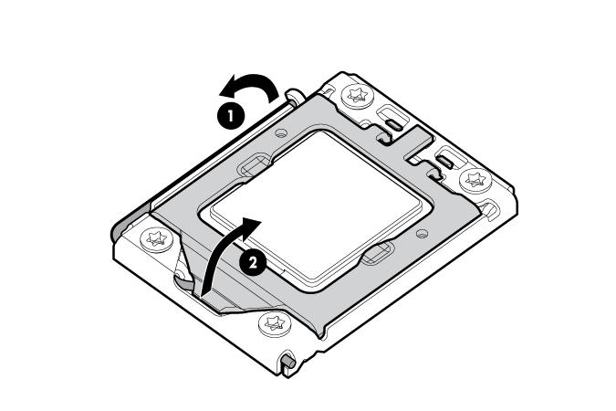 HP ProLiant WS460c G6 97535 System board