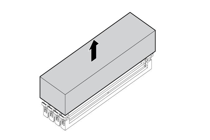 HP ProLiant WS460c G6 98947 DIMM baffles