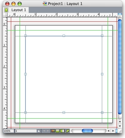 QuarkXpress example safety bleed guides Creating bleed and safety guides