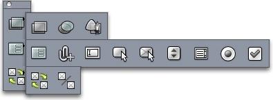QuarkXpress palette web tools Web työkalut