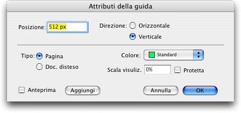 QuarkXpress db guide attributes Creazione di guide con Guide Manager Pro