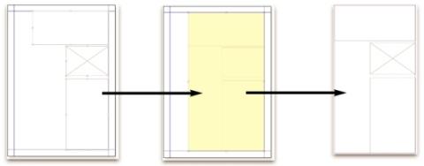 QuarkXpress diagram composition zones 02 Composition?Zonesの用語