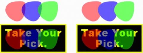 QuarkXpress example opacity group 그룹에 대한 투명도 지정하기