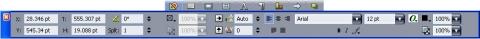 QuarkXpress pal meas nav tab Kontrolltavlepalett