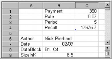 Wordperfect Quattro Pro fieldblock Reference: Using OLE automation
