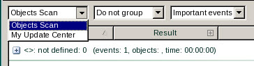 Rescue Disk choose task Selecting task to create a report