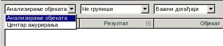Rescue Disk choose task Biranje zadatka za pravljenje izveštaja