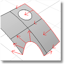 Rhinoceros dupedge 001 Duplicate edges/borders