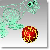 Rhinoceros shadeselected 001 ビューポート表示モード