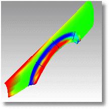 Rhinoceros curvatureanalysis 001 分析