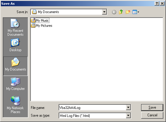 Vba32 AntiRootkit save as Събиране на информация за състояние на системата