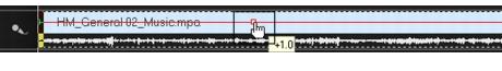 Corel Videostudio audio adjust volume 2 Mixing audio tracks