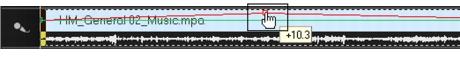 Corel Videostudio audio adjust volume 3 Mixing audio tracks