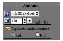 Corel Videostudio audio duplicate audio channel Mixing audio tracks