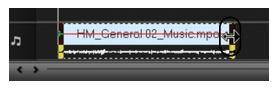 Corel Videostudio audio time stretch Stretching audio duration