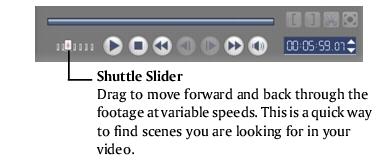 Corel Videostudio capture dv navigationpanel The Capture Step Options Panel