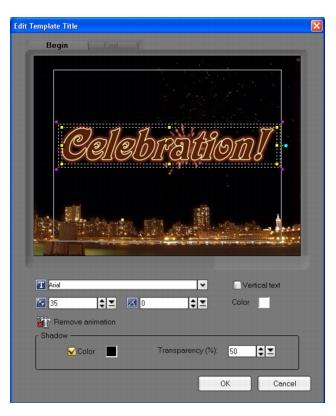 Corel Videostudio dv2dvd edittitle DV to DVD Wizard