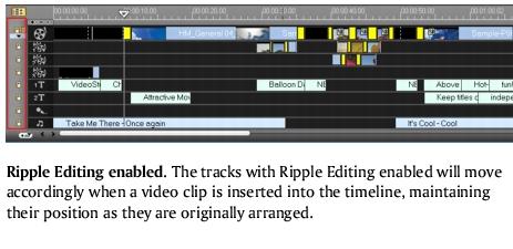 Corel Videostudio edit rippleediting2 Ripple Editing