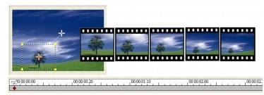 Corel Videostudio edit zoom Enhancing clips