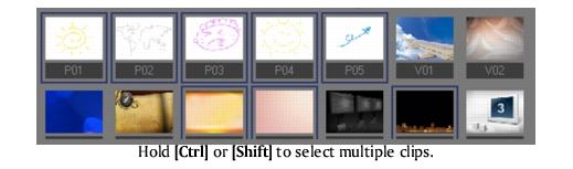 Corel Videostudio gettingstarted library multiselect VideoStudio Editor