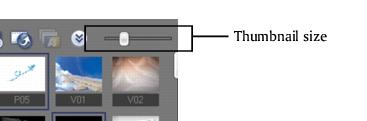 Corel Videostudio gettingstarted library slider VideoStudio Editor