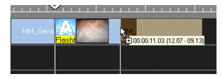 Corel Videostudio instant timecode tip1 Working with clips