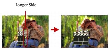 Corel Videostudio overlay keep aspect ratio1 Working with Overlay clips