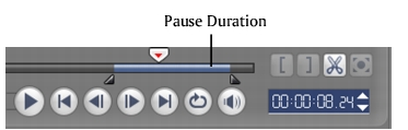 Corel Videostudio overlay pause duration Working with Overlay clips
