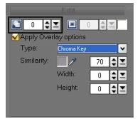 Corel Videostudio overlay transparency Enhancing Overlay clips