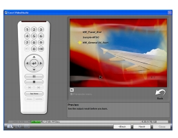 Corel Videostudio share preview Burning video discs