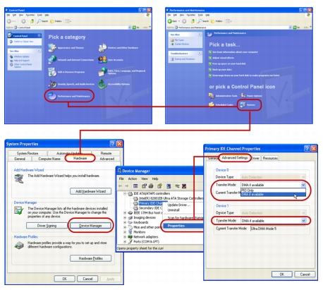 Corel Videostudio systemtweaks winxp1 Appendix D: System tweaks