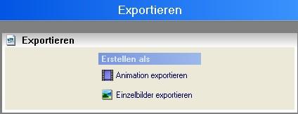 Vitascene de vita 16 Exportieren