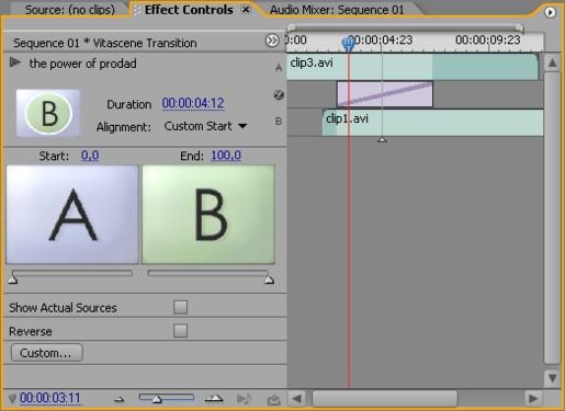 Vitascene eng prePro 5 Plugin as video transition