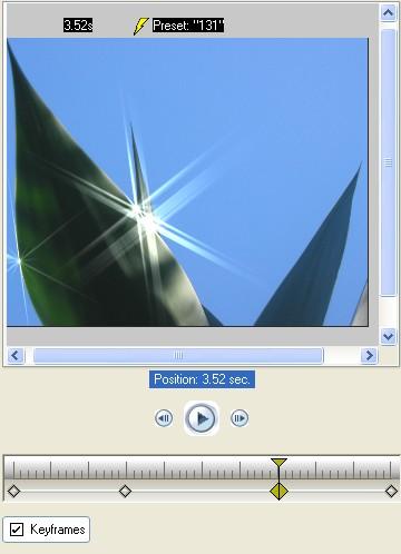 Vitascene eng vita117 Apply Sparkle filter to an image