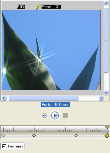 Vitascene eng vita118 Apply Sparkle filter to an image