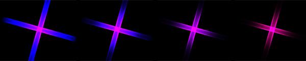 Vitascene starburst ton verlauf Rays