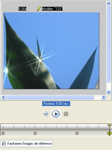 Vitascene fr vita37 Appliquer le filtre Etoiles sur l'image