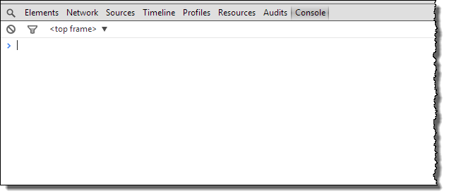 Web Studio Help browser console chrome Open the browser console