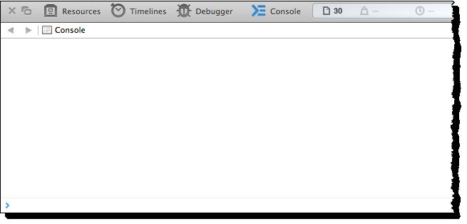 Web Studio Help browser console safari Open the browser console