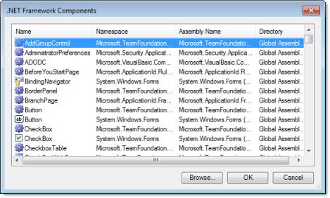 Web Studio Help dialog netframeworkcomponents .NET Control object