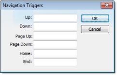 Web Studio Help dialog objectproperties alarmeventcontrol advanced navtriggers Alarm/Event Control object