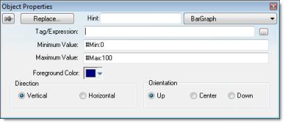 Web Studio Help dialog objectproperties bargraph Bargraph animation