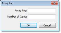Web Studio Help dialog objectproperties combobox datasources arraytag Combo Box object