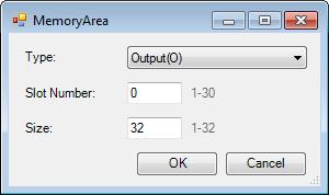 Web Studio Help dialog tagintegration source abtcp memoryarea Allen Bradley PLC5, SLC500