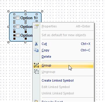 Web Studio Help illus graphics groupofobjects1 Group