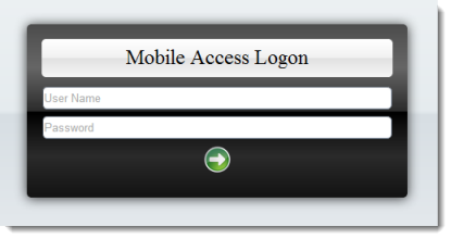 Web Studio Help illus mobileaccess logon Log on to the web interface