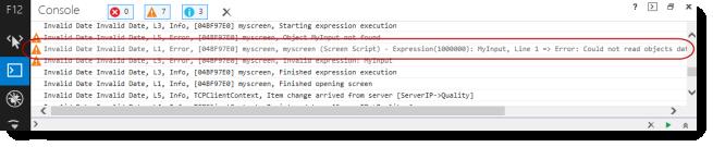 Web Studio Help illus mobileaccess troubleshooting 4 Use the activity log